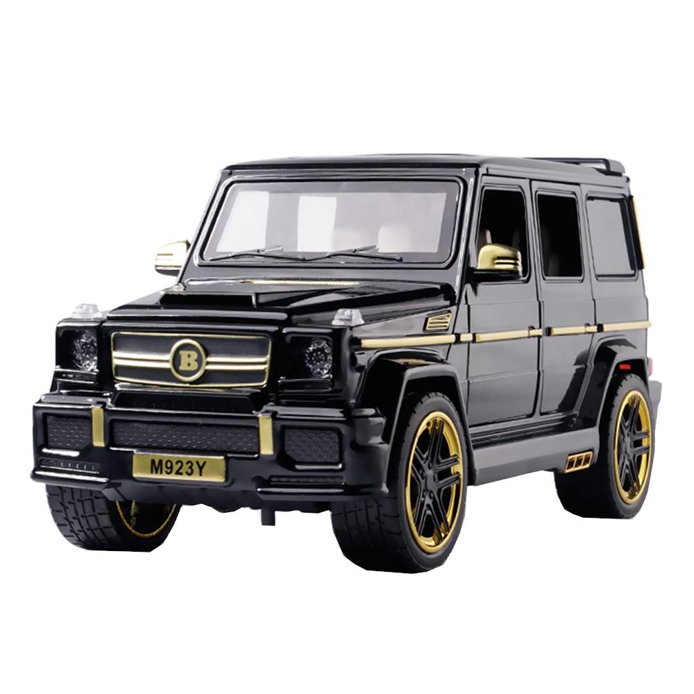 Купить Коллекционная модель машины джип MRS GEL Y 21см, цв. черный, Shantou Gepai, Игрушечные машинки