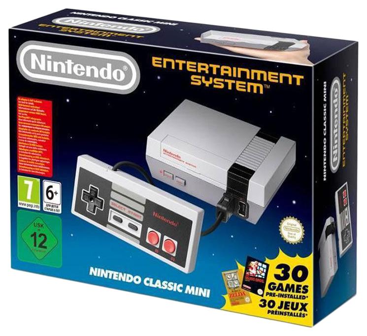 Игровая приставка Nintendo Classic Mini +