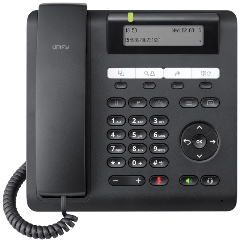 IP-Телефон Unify OpenScape CP205 Черный (L30250-F600-C432).