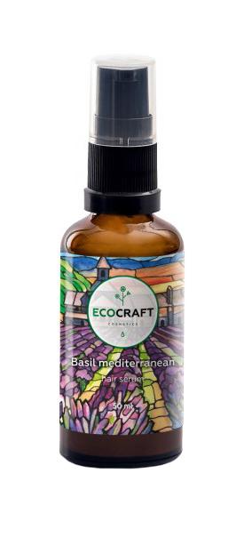Сыворотка для волос EcoCraft Hair Serum Basil mediterrenian 50 мл