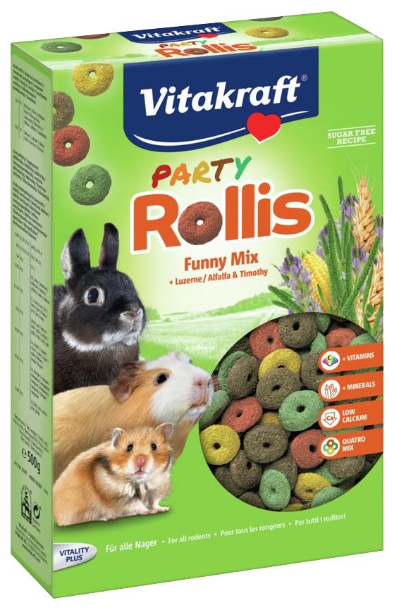Корм для грызунов ВИТА С ROLLINIS PARTY