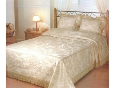 Покрывало LUMATEX Roma ecru/brown размер 180х260