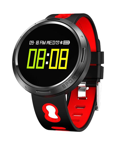 Смарт часы Prolike PLSW4000 Red/Black