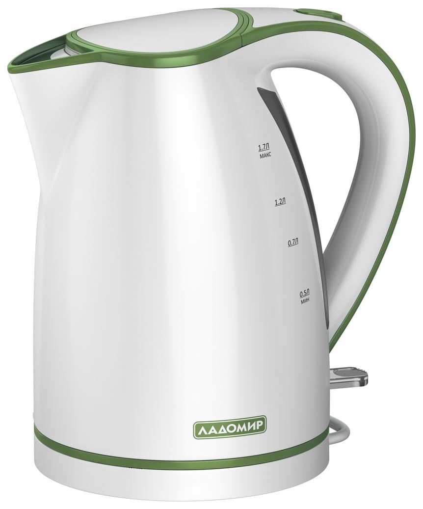 Чайник электрический Ладомир 327 4 Green/White