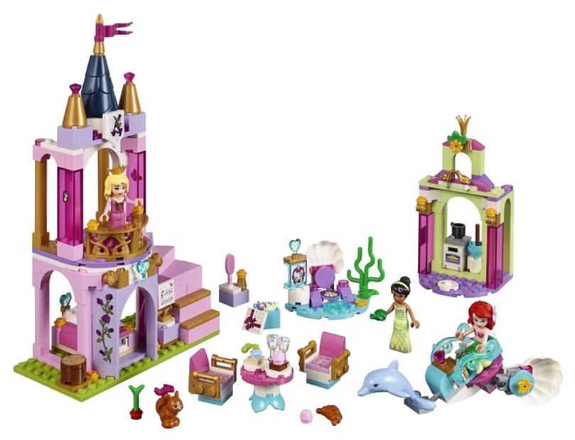 Купить Конструктор lego disney princess 41162 королевский праздник ариэль, авроры и тианы, Конструктор LEGO Disney Princess 41162 Королевский праздник Ариэль, Авроры и Тианы, LEGO для девочек