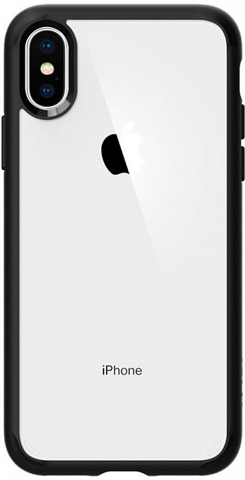 Чехол Spigen Ultra Hybrid (063CS25116) для iPhone X/Xs (Matte Black)