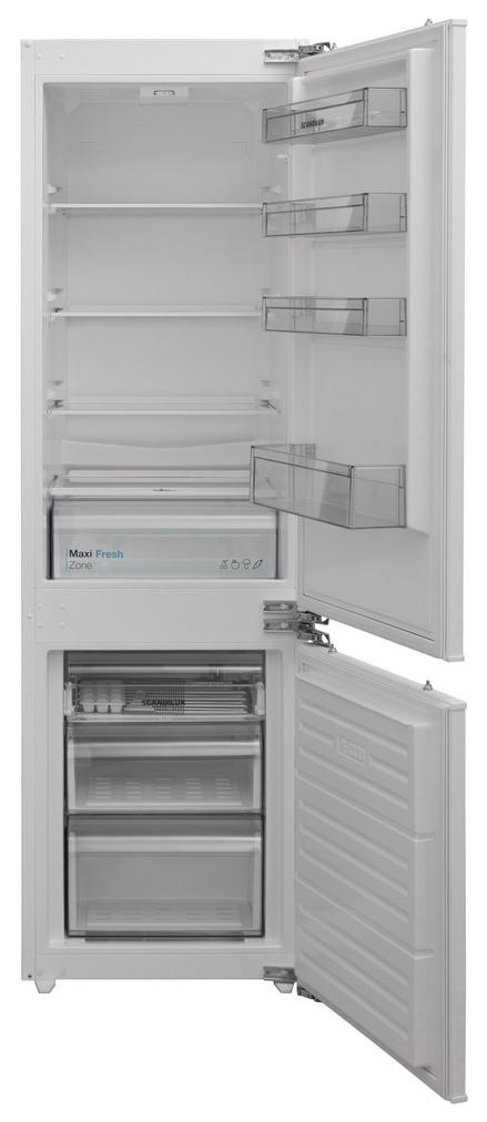 Встраиваемый холодильник Scandilux CSBI 256 M White