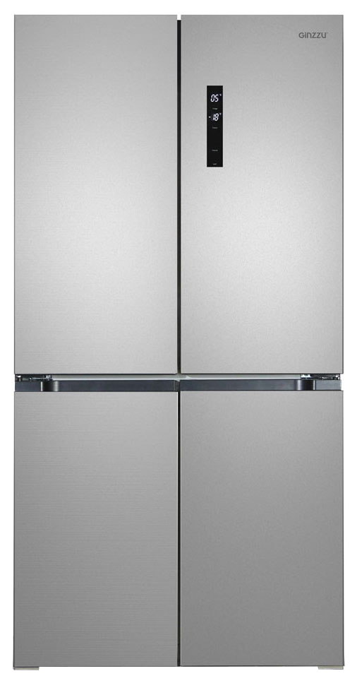 Холодильник Ginzzu NFK 575 Silver/Grey