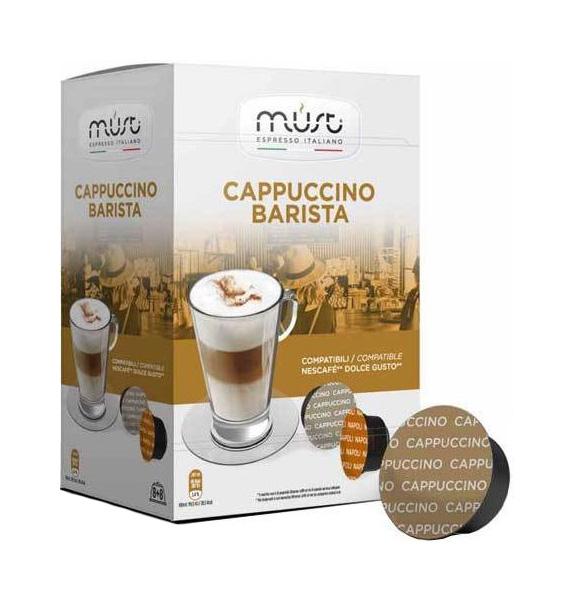Кофе Must cappucino barista 16 капсул