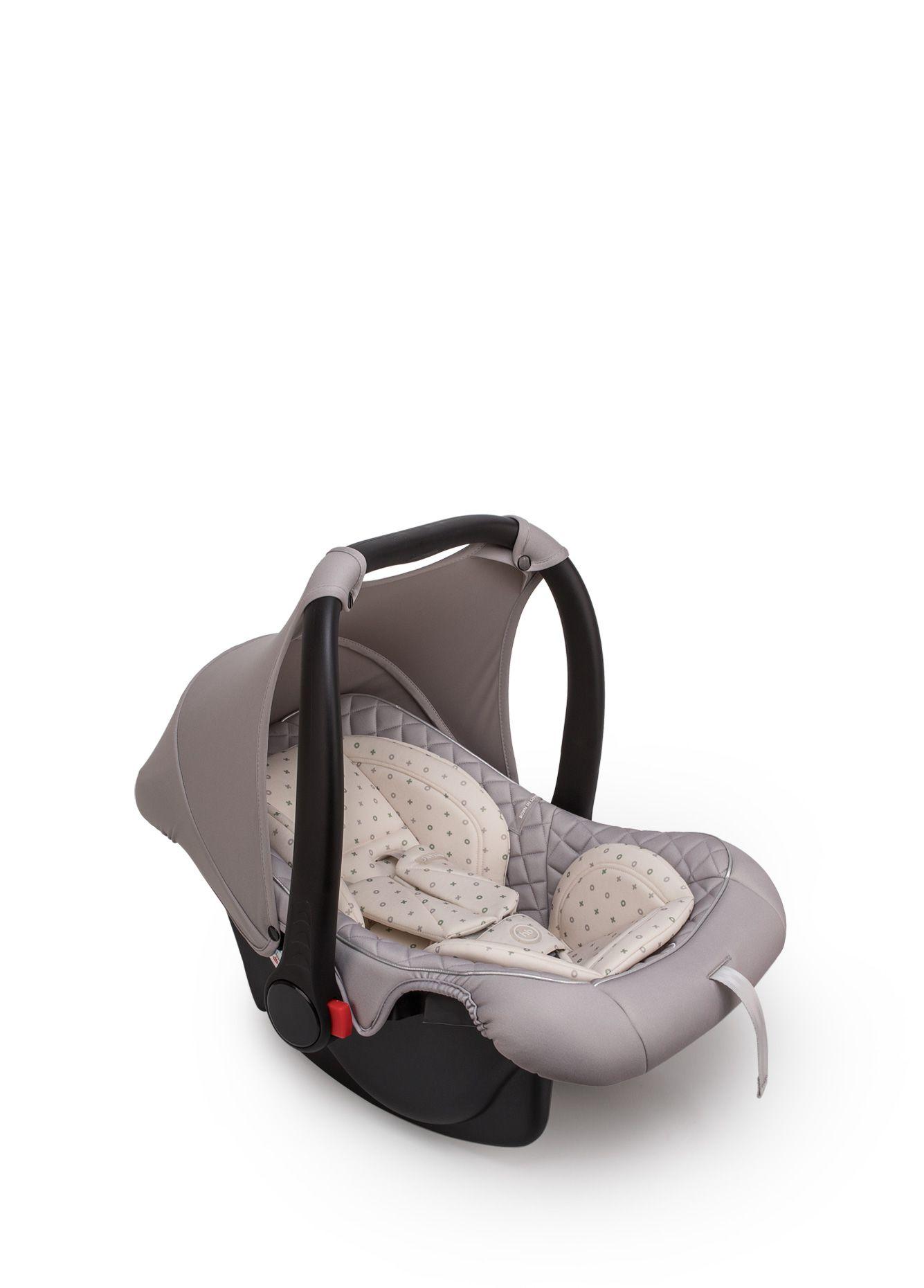 Автокресло Happy Baby SKYLER V2 люлька-переноска Stone