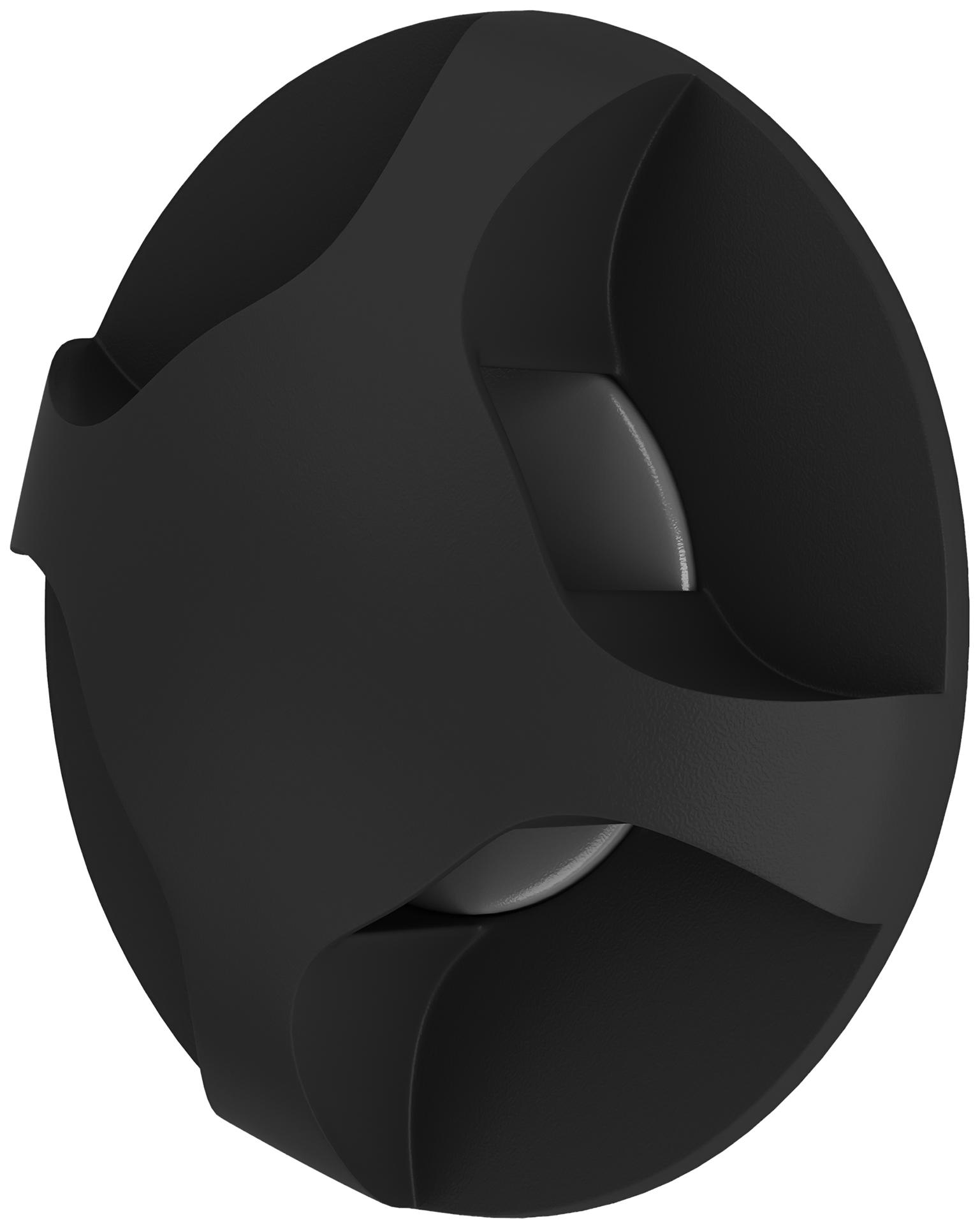 Встраиваемый светодиодный светильник Lightstar Lumina 212374 Черный