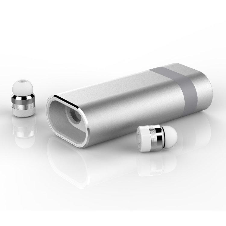 Беспроводные наушники Earbuds A8 5.0 PB Silver фото
