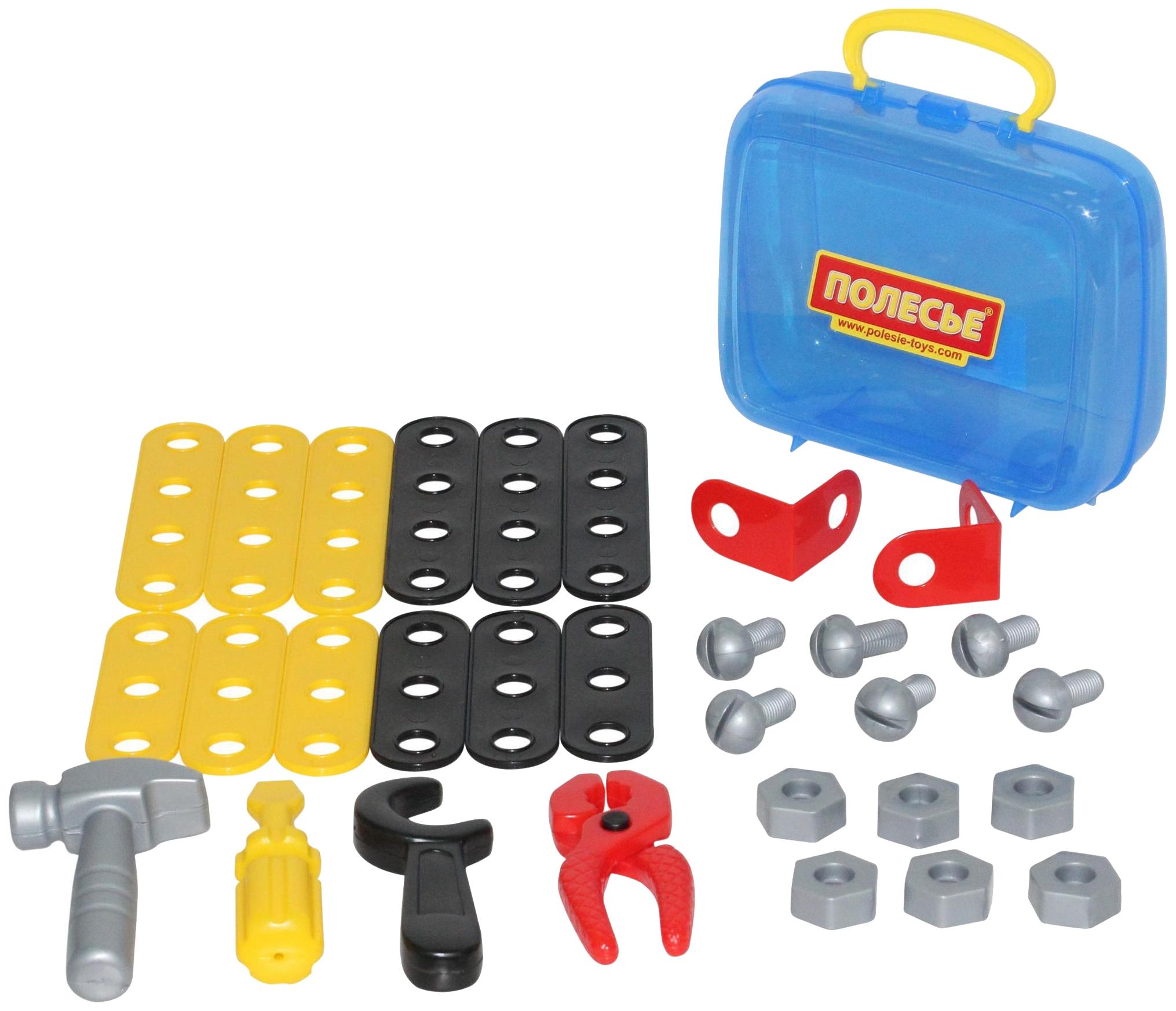 Набор игрушечных инструментов Polesie Механик 30 элементов