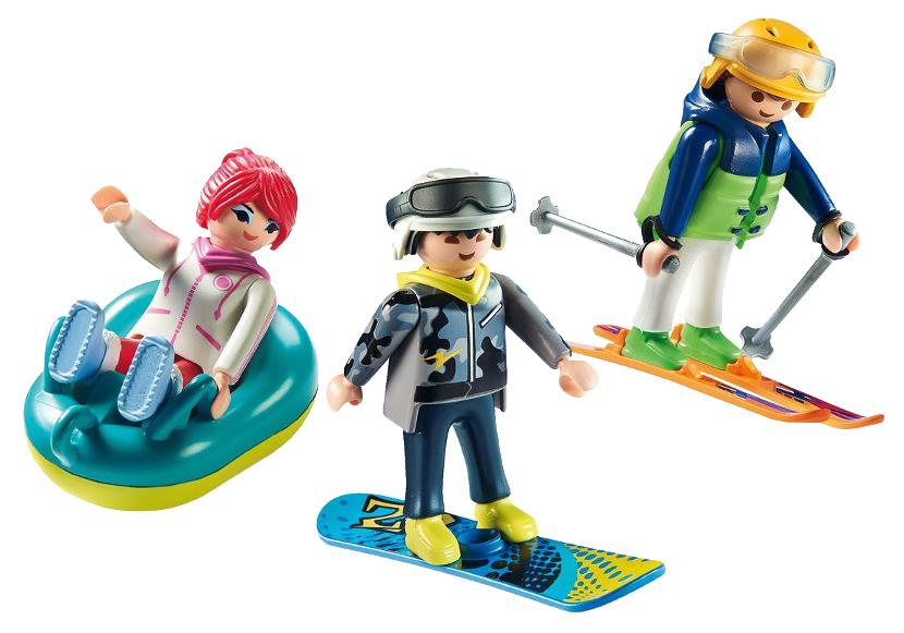 Игровой набор Playmobil Зимние виды спорта: Зимние виды спорта - трио