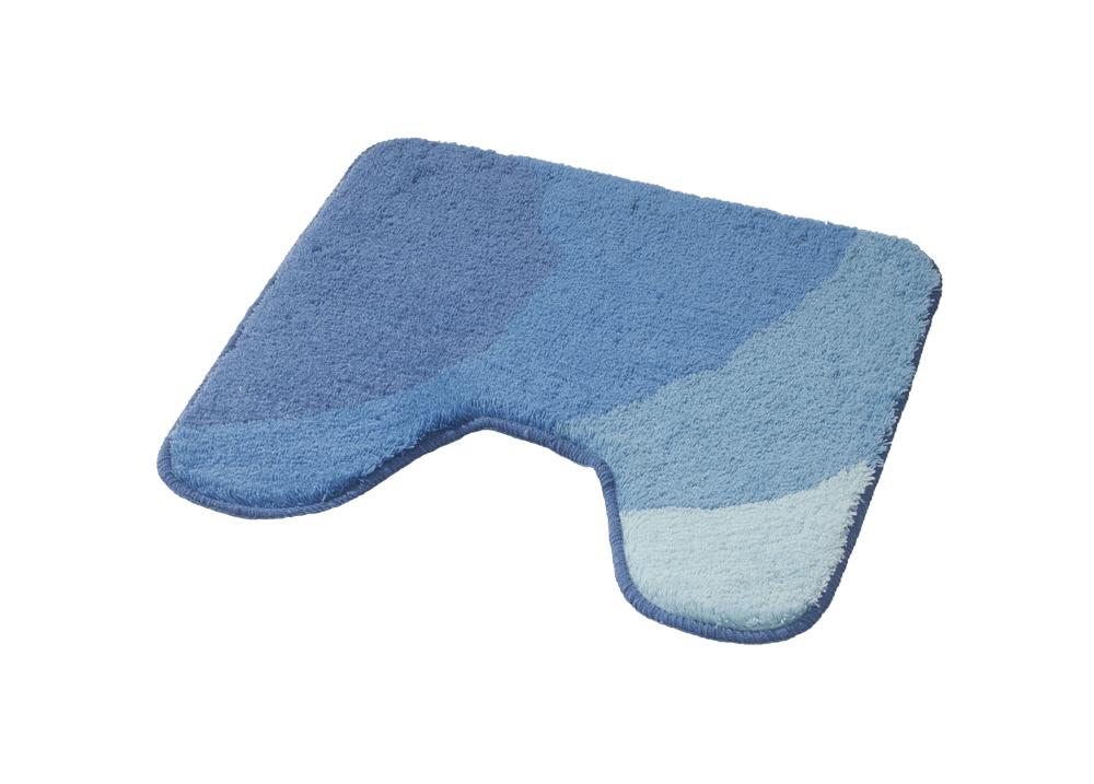 Коврик для ванной комнаты Tokio синий/голубой 50*50