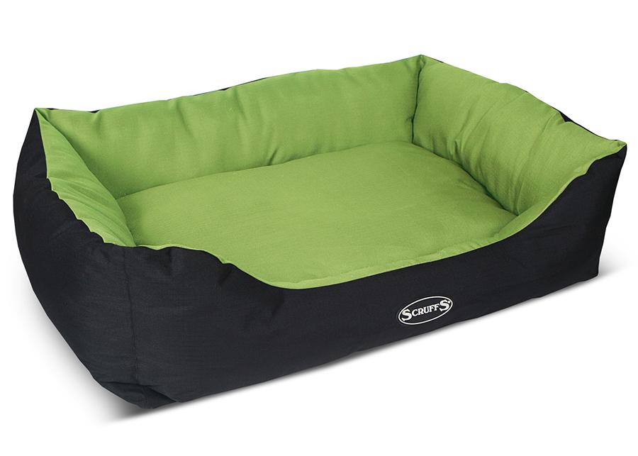 Лежанка для собаки Scruffs оксфорд 70x90x21см зеленый