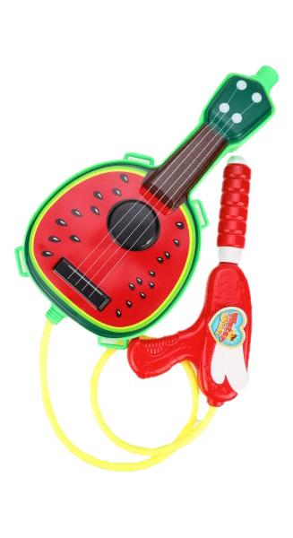 Набор Бластер Наша Игрушка водяной с рюкзаком Гитара 2016-11A