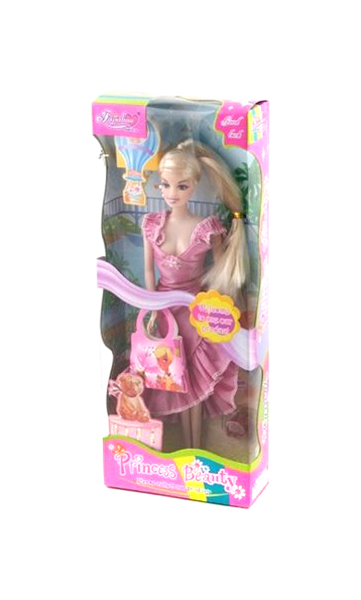 Кукла Shenzhen toys Princess Beauty с сумочкой 89198
