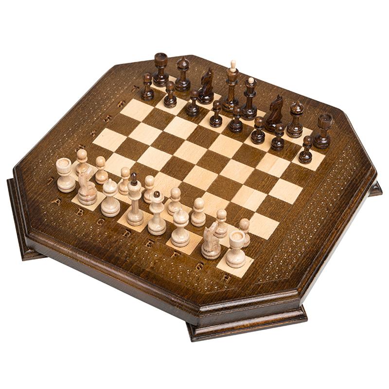 Купить Шахматы восьмиугольные Haleyan 30