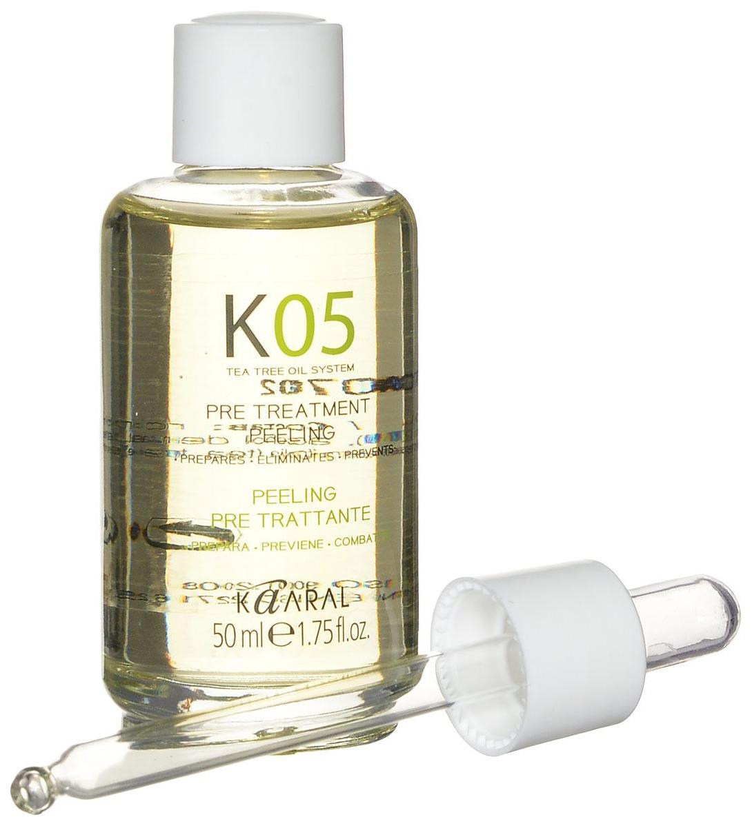 Капли с глубокоочищающим и детоксикационным действием Kaaral К05 Gocce Pre-Treatment 50 мл
