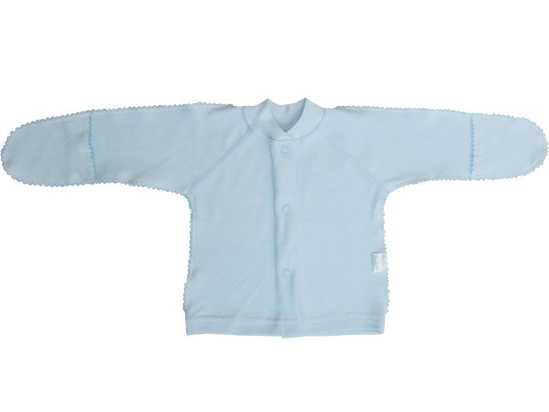 Купить Кофта детская Папитто на кнопках интерлок Голубой р. 18-50 И37-203н, Кофточки, футболки для новорожденных
