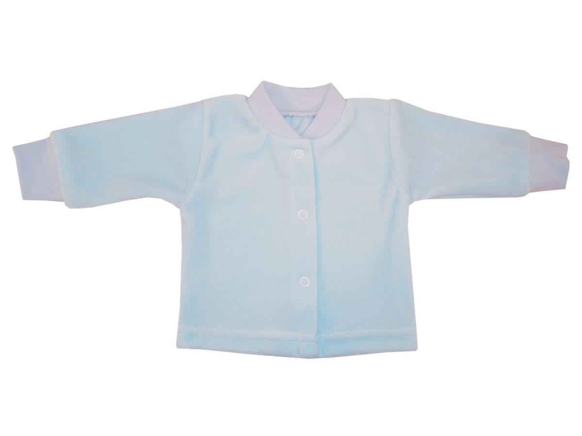 Купить Кофта детская Папитто голубой р.74 И53-201, Кофточки, футболки для новорожденных