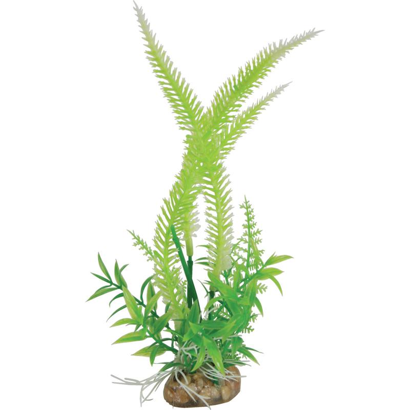 Растение для аквариумов ZOLUX пластиковое композиция Medium