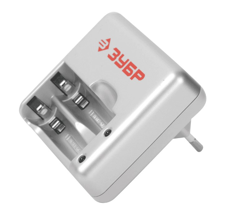 Зарядное устройство Зубр 1 час, 2хААА/АА
