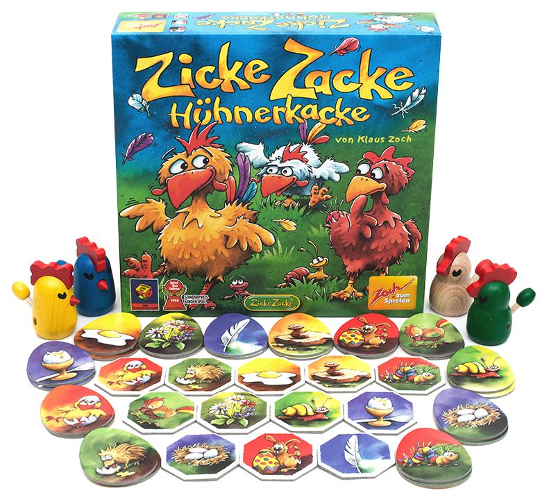 Купить Настольная игра Zoch Цыплячьи бега (Zicke Zacke Huhnerkacke), Семейная настольная игра Стиль жизни Цыплячьи бега УТ000000811,