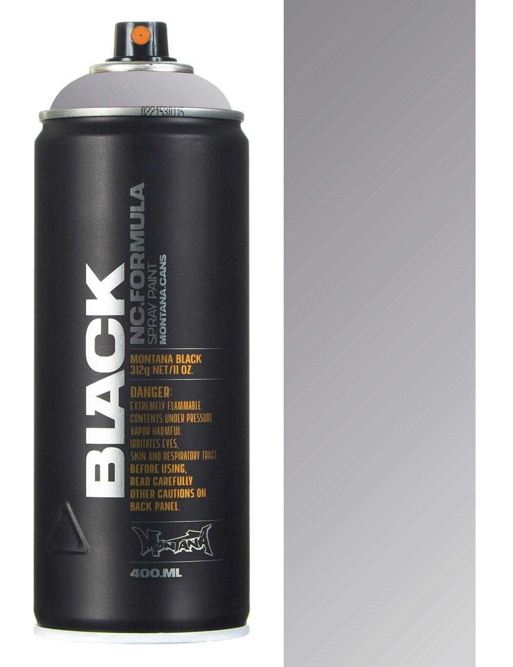 Аэрозольная краска Montana Black Outline серебро 400 мл
