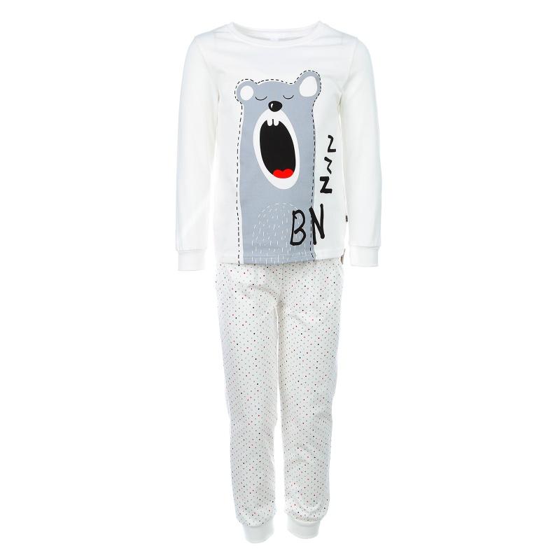 Купить Пижама Bossa Nova Бежевый р.104, Детские пижамы