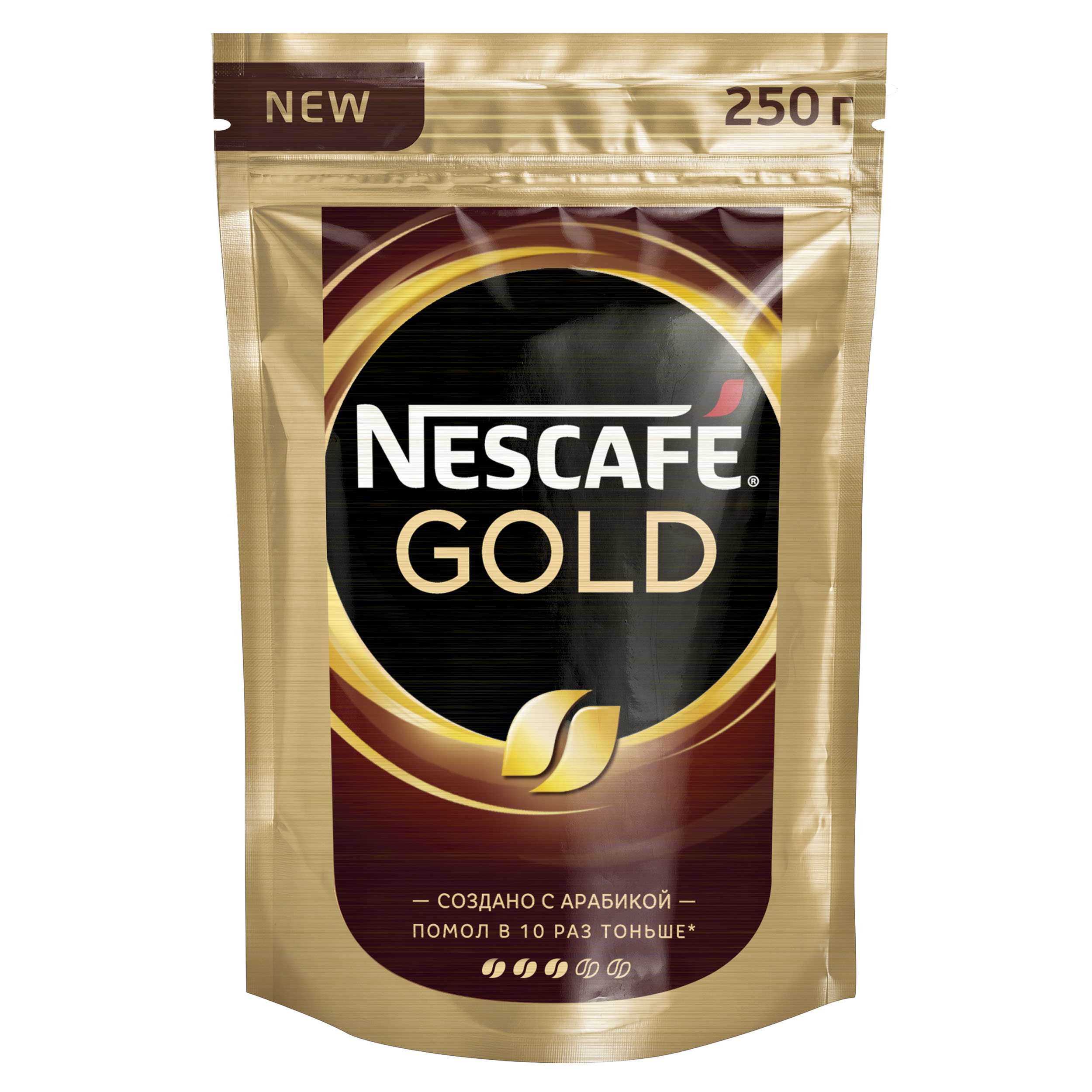 Кофе растворимый Nescafe gold 250 г фото