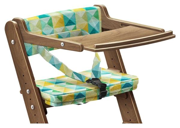 Купить Столик для стула Конек Горбунек с аксессуарами 09390-37 Береза/Кораблик, Столик для стульчика для кормления