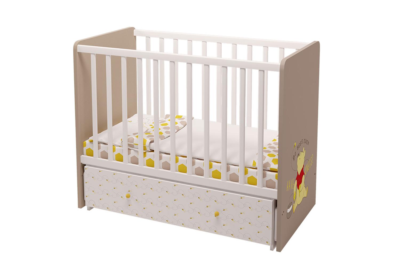 Купить Кровать-трансформер детская Polini Disney Baby 750 Медвежонок Винни и его друзья, Кроватки трансформеры