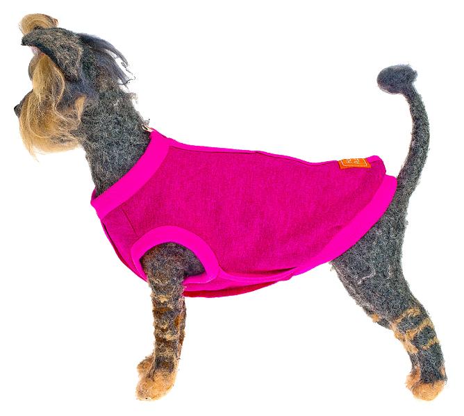 Толстовка для собак Happy Puppy Спорт женский розовый XL.
