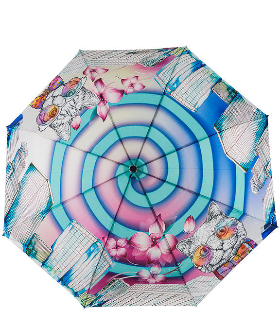 Зонт женский Eleganzza А3-05-0498LS 11, молочный