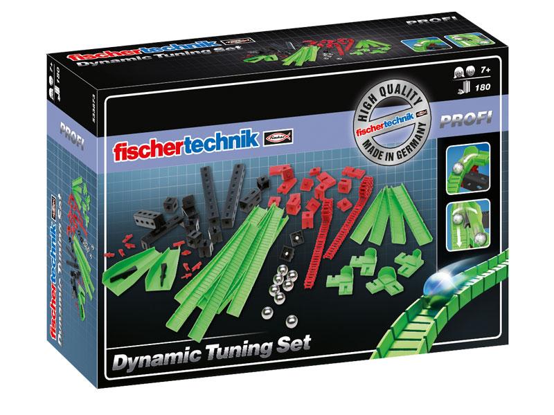 Купить Конструктор Fischertechnik PROFI Dynamic Tuning Set/Набор для тюнинга, Конструкторы пластмассовые