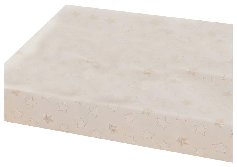 Скатерть Peyer Narvik Malmo 130x160см Белый/Золотой