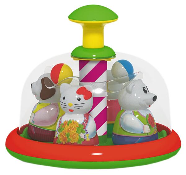 Купить СТЕЛЛАР Юла-карусель Аттракцион 01397/C, STELLAR, Развивающие игрушки