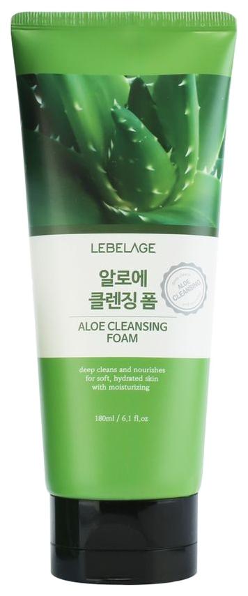 Пенка для умывания Lebelage Aloe Cleansing Foam