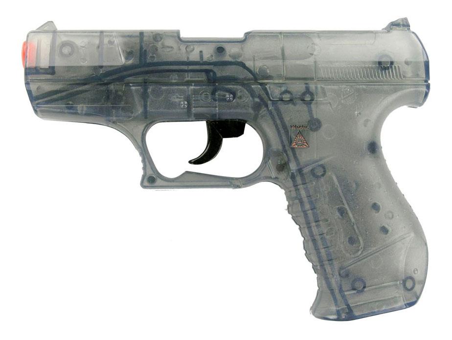 Купить Пистолет Специальный агент P99 25-зарядные Gun, 180 mm, упаковка-карта, Sohni-Wicke, Игрушечные пистолеты
