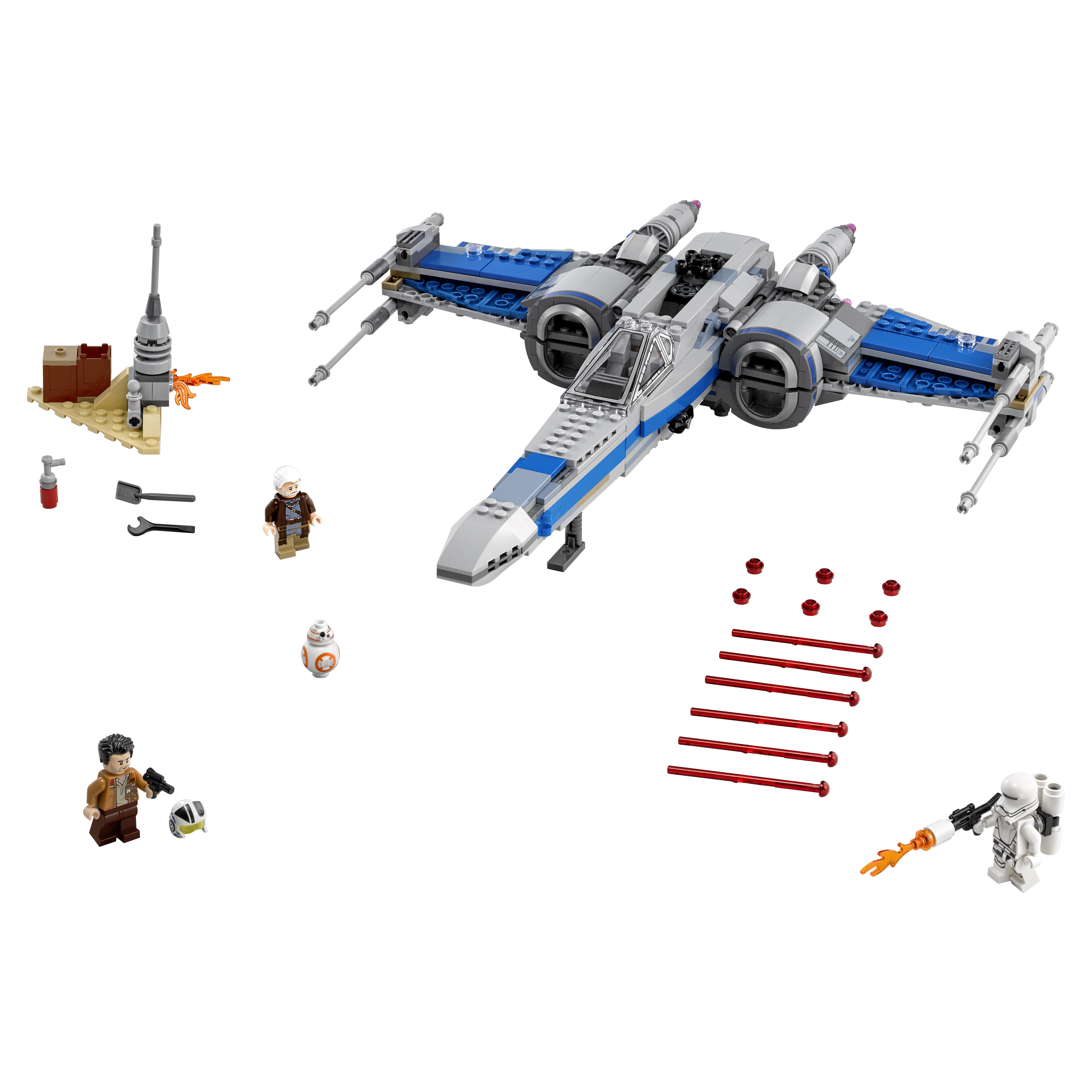 Конструктор LEGO Star Wars Истребитель Сопротивления типа