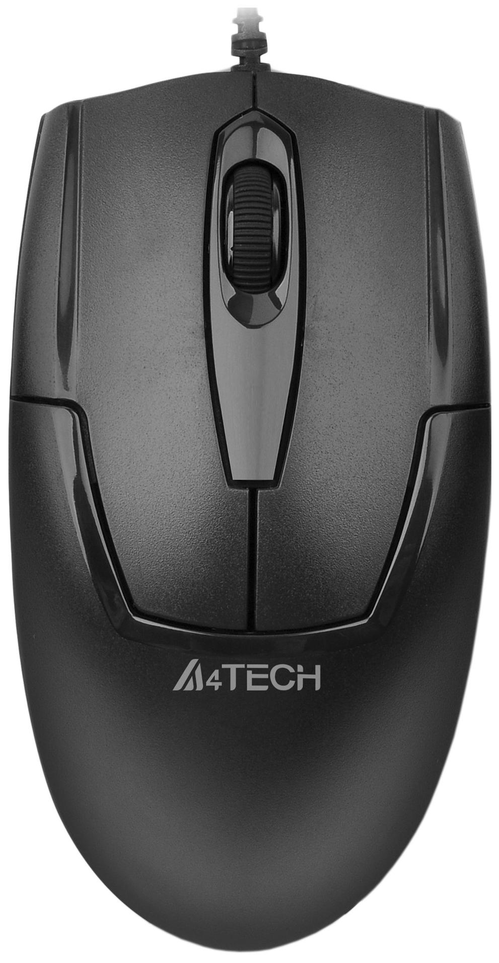 Проводная мышка A4Tech V-Track Padless OP-530NU Black