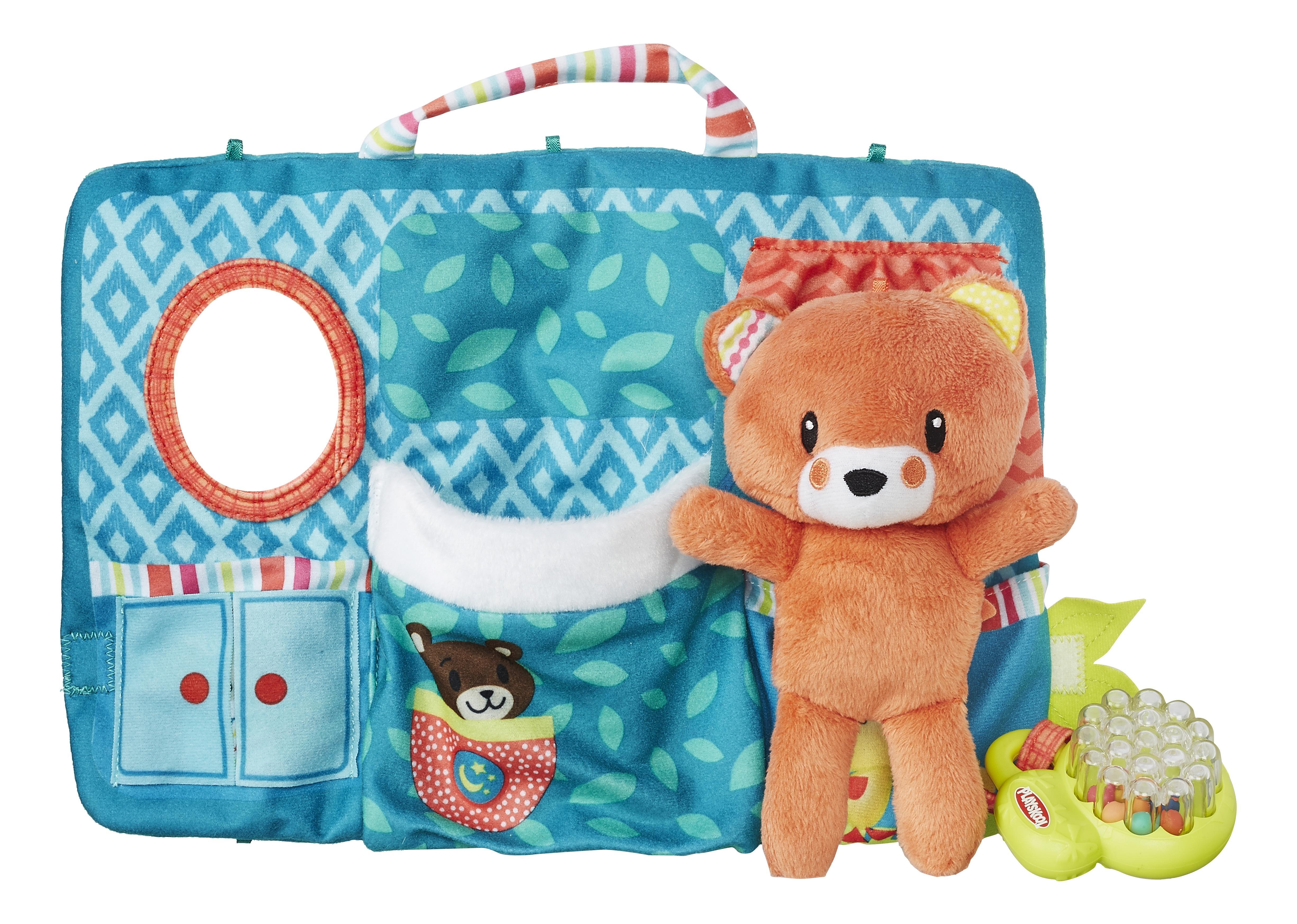 Купить Мягкая игрушка Playskool Первые плюшевые друзья B6290 B6292, Мягкие игрушки животные