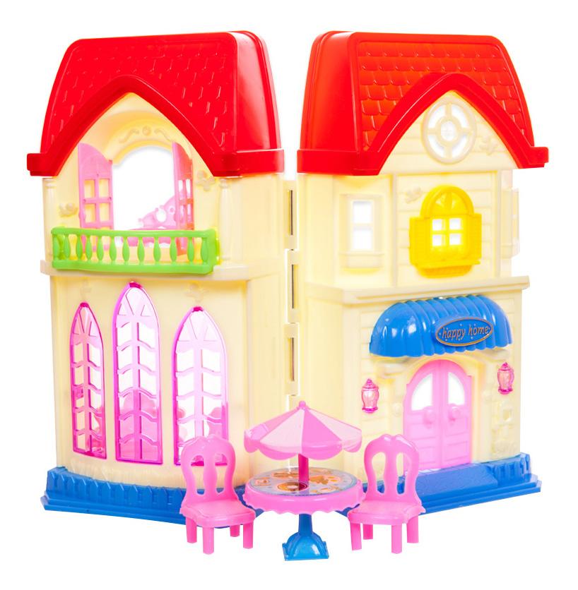 Купить В гостях у куклы, Дом в гостях у куклы ABtoys pt-00498,