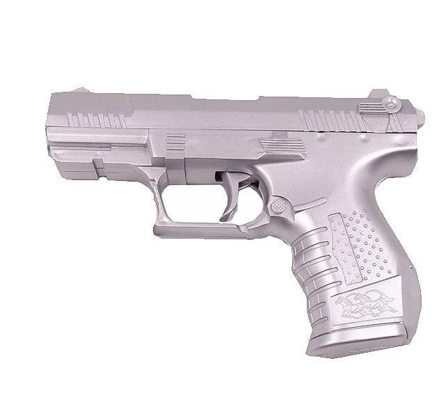 Пистолет. набор разведчика (пистолет металлик ars-260 ABtoys