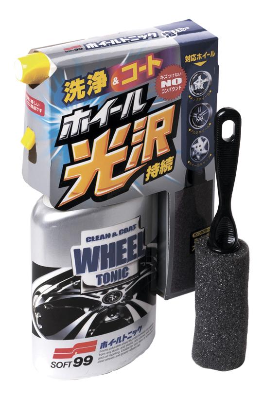 Очиститель дисков Soft99 Wheel Tonic (2044)