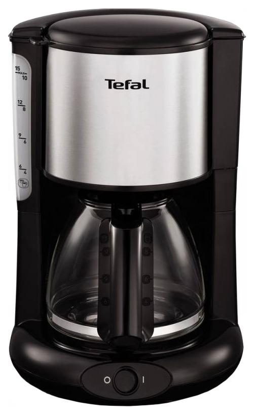 Кофеварка капельного типа Tefal Confidence CM3618 Silver/Black