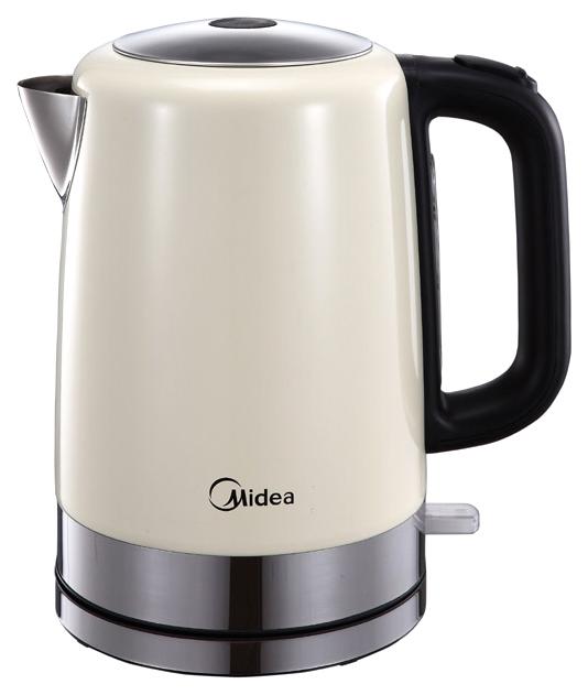 Чайник электрический Midea MK-8055 Black/Beige фото