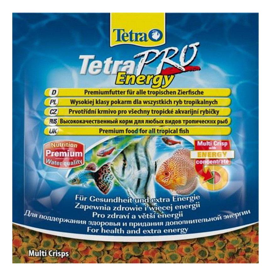 Корм для рыб Tetra PRO Energy, для дополнительной энергии, чипсы, 12 г фото